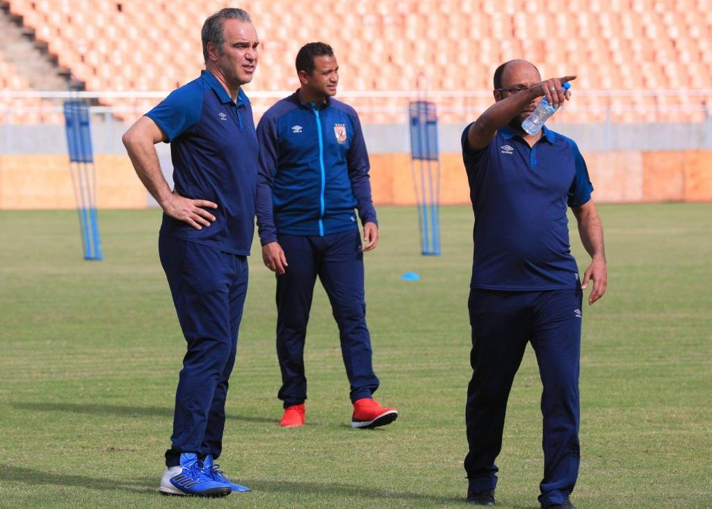 مدرب الأهلي يتحدث عن مباراة الإسماعيلي ومدى جاهزية وليد سليمان للقاء