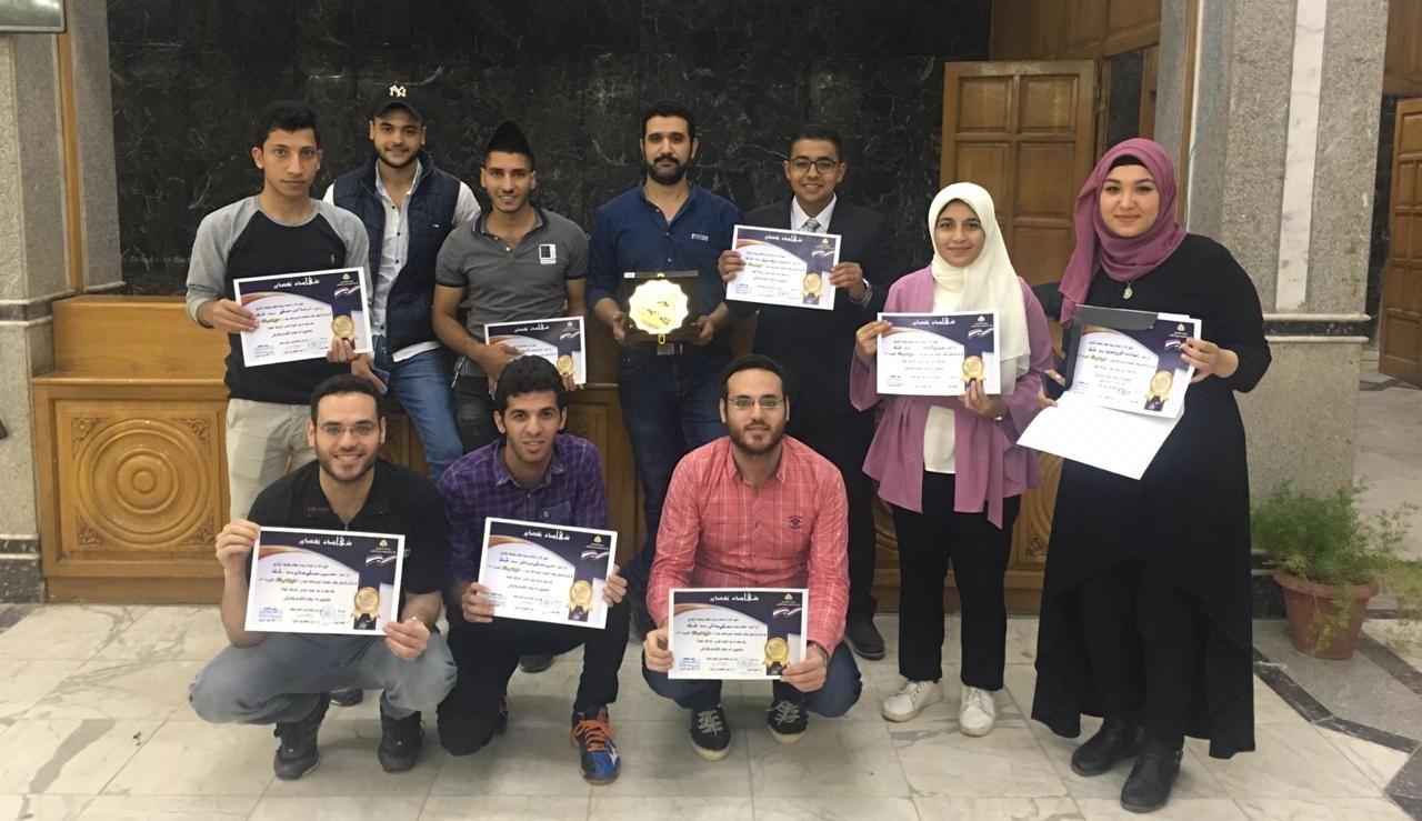 مراكز متقدمة لطلاب جامعة طنطا في الثقافة والشعر والعسكرية