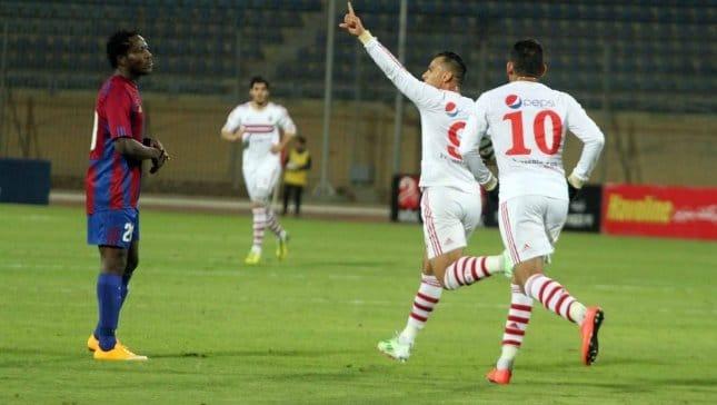 أهداف الزمالك وبتروجيت في الدوري المصري (3-0)