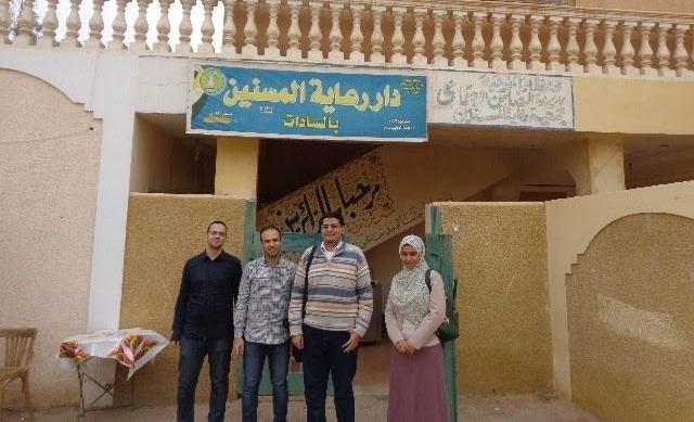 قافلة طبية من جامعة المنوفية إلى دار المسنين بالسادات «صور»