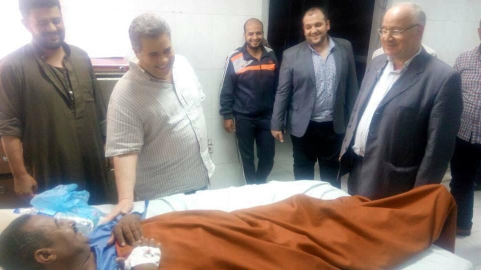 في زيارة مفاجئة.. رئيس جامعة بنها يعلن حالة الطوارئ بالمستشفيات الجامعية