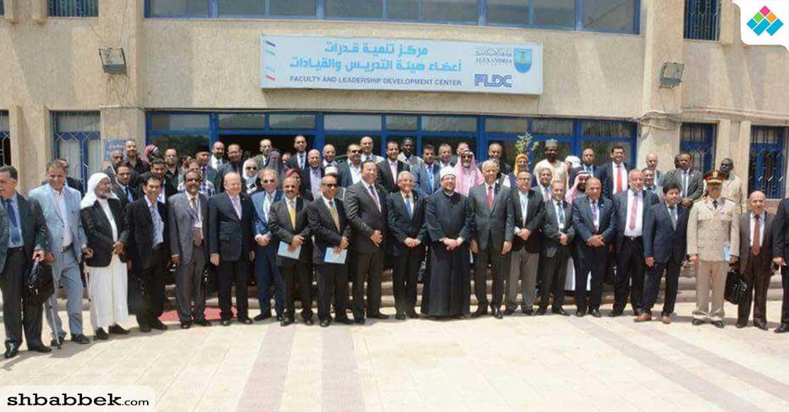 جامعة سوهاج تشارك في المؤتمر الدولي لحاجة العالم للاقتصاد الإسلامي