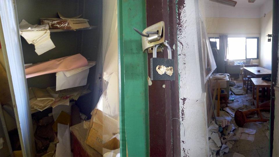 عميدة «هندسة الفيوم» تقتحم غرفة اتحاد الطلاب بالكلية وتحطم محتوياتها
