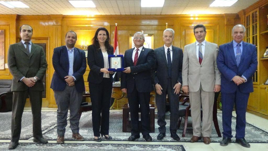«فولبرايت» تعقد ندوة بجامعة المنيا عن المنح بالجامعات الأمريكية