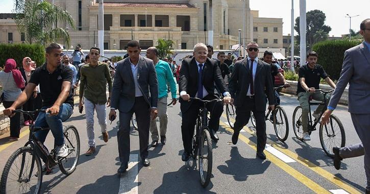 لأول مرة.. بطولة ركوب الدراجات لطلاب وطالبات الجامعات المصرية