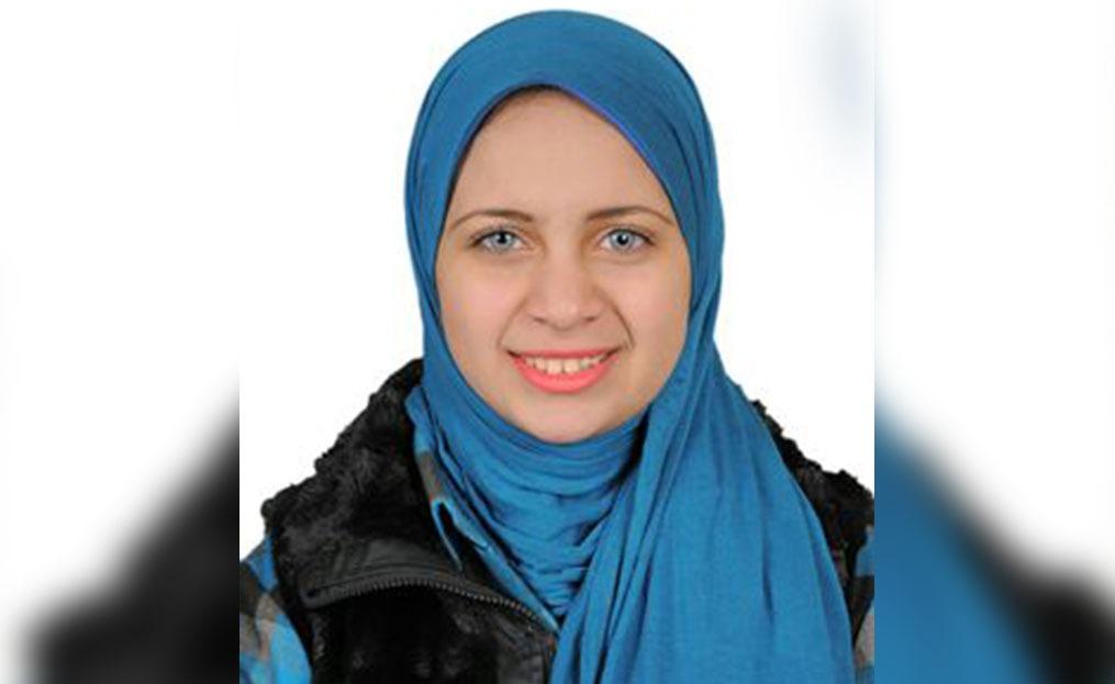 الطالبة أريج الجيار: سأنافس على رئاسة اللجنة الفنية باتحاد جامعة بنها