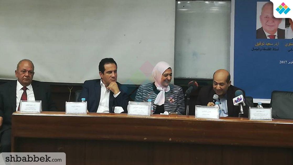 ندوة  الفن.. قوة وضعف المجتمعات بسياسة القاهرة