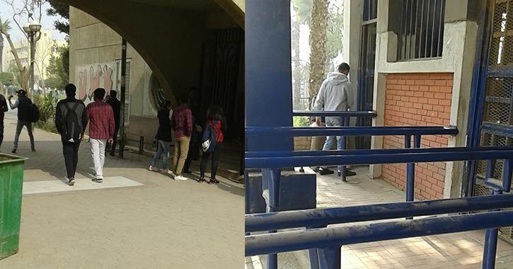 إقبال ضعيف بجامعة حلوان مع بداية الترم الثاني.. والطلاب: «الحضور الأسبوع القادم»