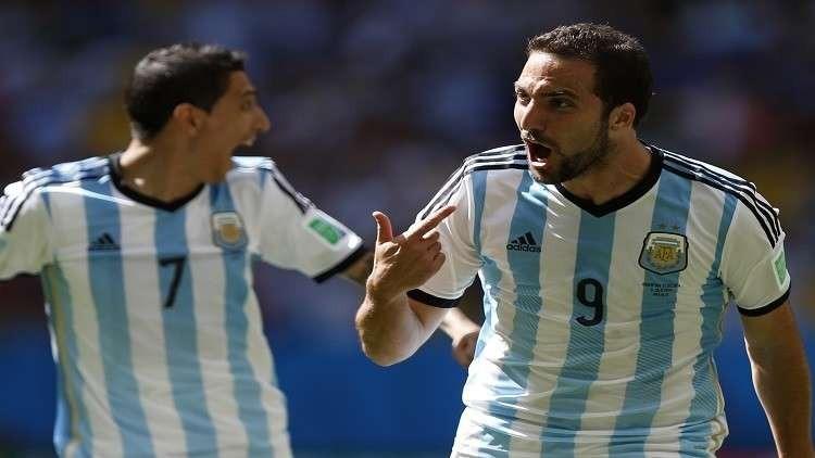 هيجواين يعود إلى صفوف المنتخب الأرجنتيني أمام إيطاليا
