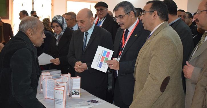 افتتاح معرض لـ28 برنامجا دراسيا جديدا في جامعة بنها