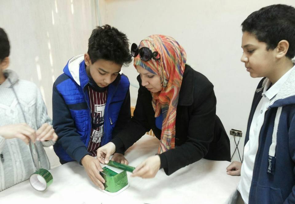 ورش تدريبية ضمن فعاليات الدورة الثالثة لجامعة الطفل بجامعة بنها