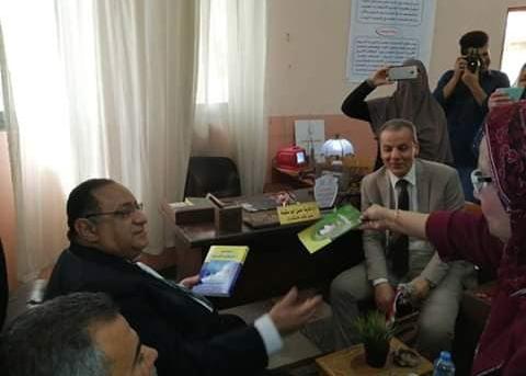 صور مشاركة رئيس جامعة حلوان في احتفال كلية الاقتصاد المنزلي بيوم اليتيم
