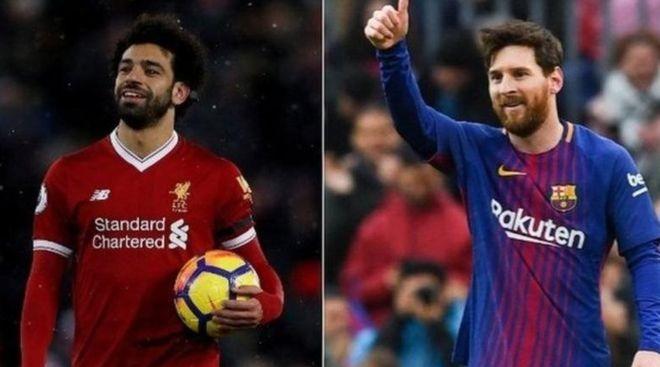 مدرب ليفربول: محمد صلاح في الطريق للمقارنة بميسي