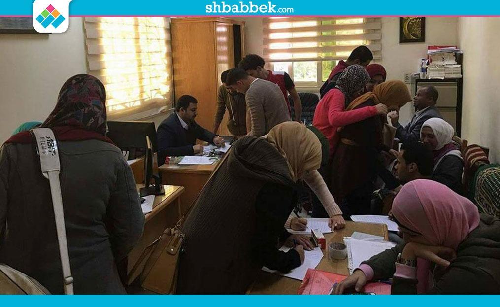طلاب وطالبات إعلام بني سويف يتنافسون في انتخابات الاتحاد