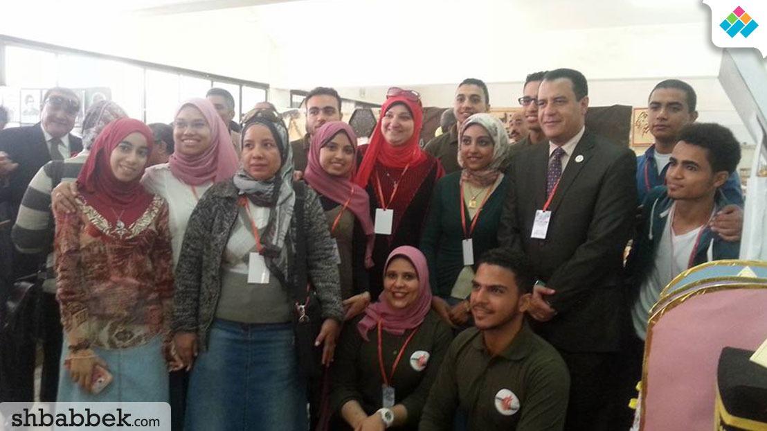 افتتاح ملتقى طلاب كليات جامعة أسيوط