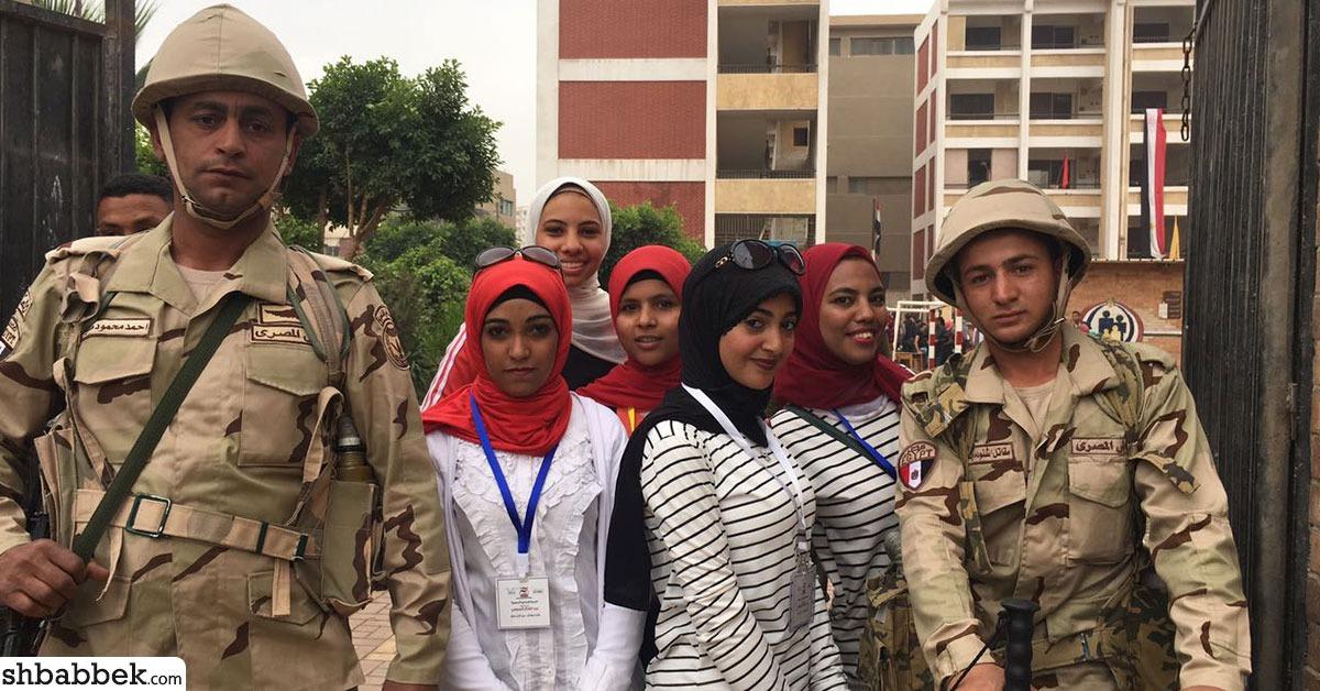 لليوم الثاني.. حشد طلاب بجامعة المنيا للمشاركة في الانتخابات الرئاسية 2018 (صور)