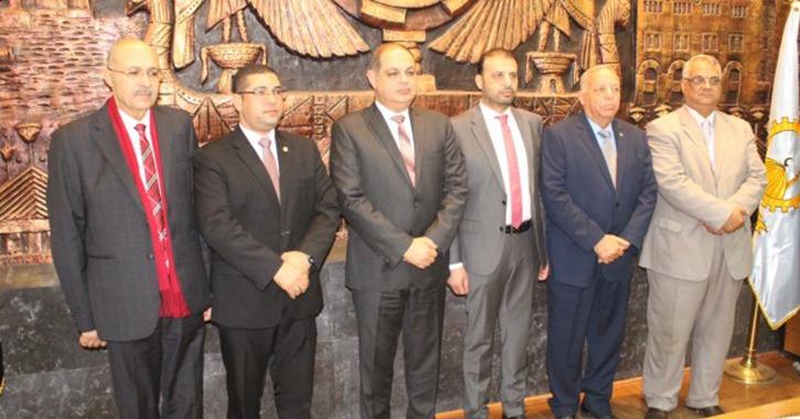 جامعة طنطا توقع 5 بروتوكولات تعاون