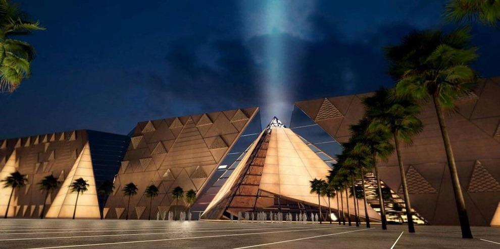 أكثر من 20 معلومة عن المتحف المصري الكبير
