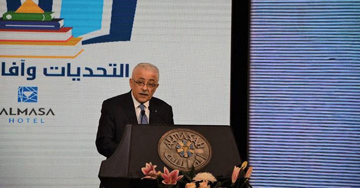 وزير التربية والتعليم: «اللي يحتاجه تطوير التعليم يحرم ع الجامع»