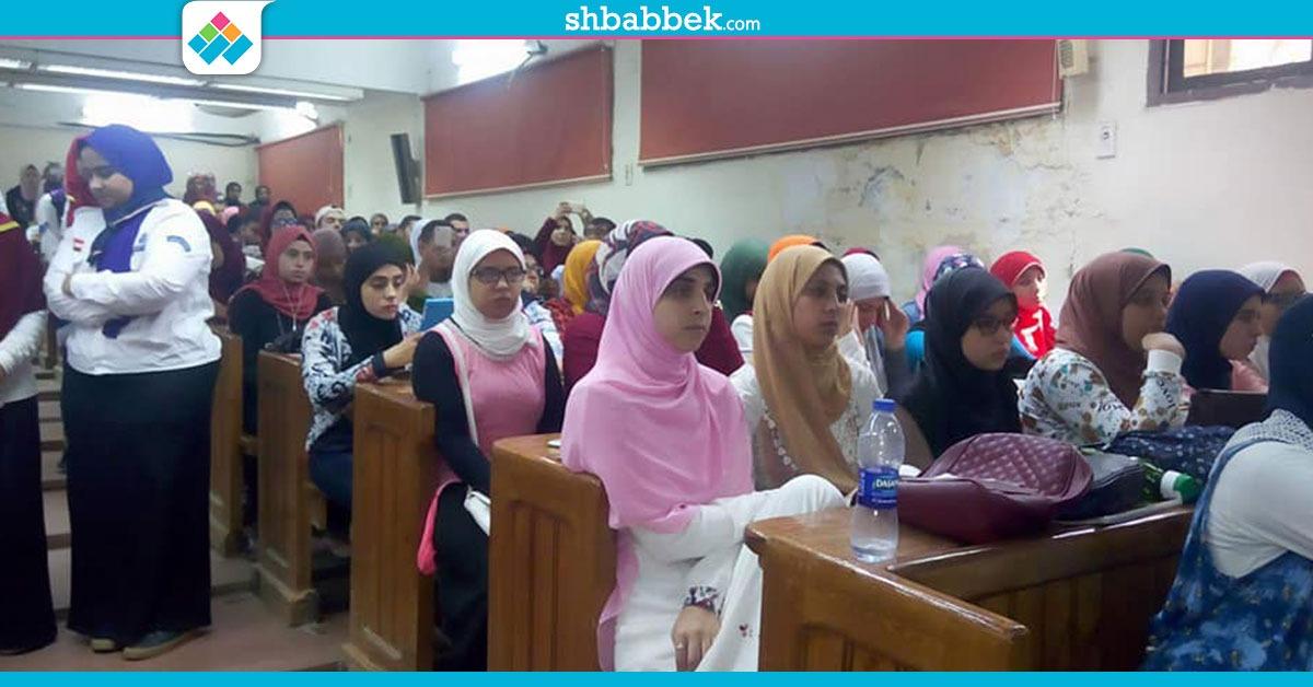استقبال الطلاب الجدد بآثار القاهرة