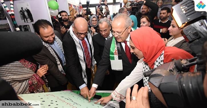رئيس جامعة القاهرة يفتتح ملتقي الثقافات الأول بجامعة القاهرة بمشاركة 12 دولة (صور)