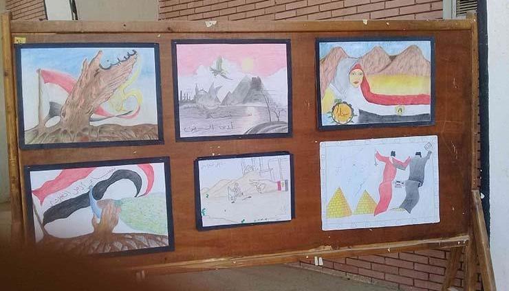 فقرات ومعارض فنية ضمن احتفالات جامعة جنوب الوادي بعيد تحرير سيناء