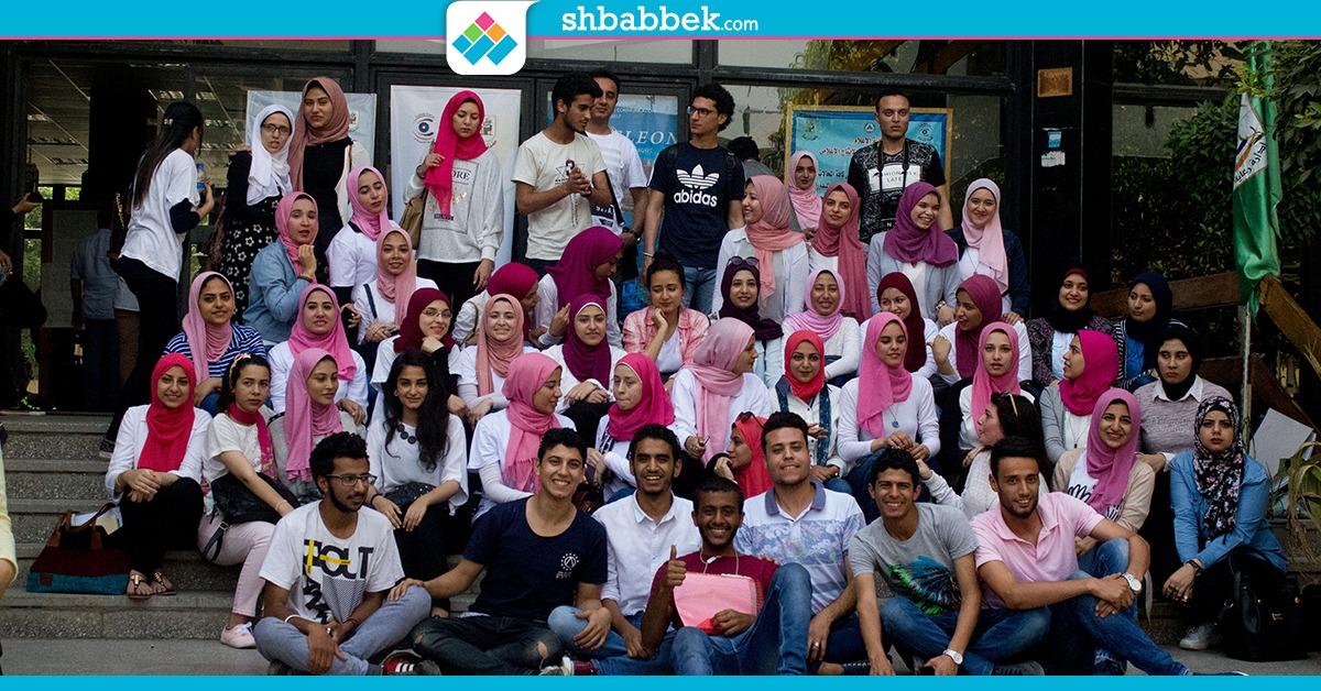 «فوتو داي» لطلاب بإعلام القاهرة قبل عامين من انتهاء دراستهم (صور)