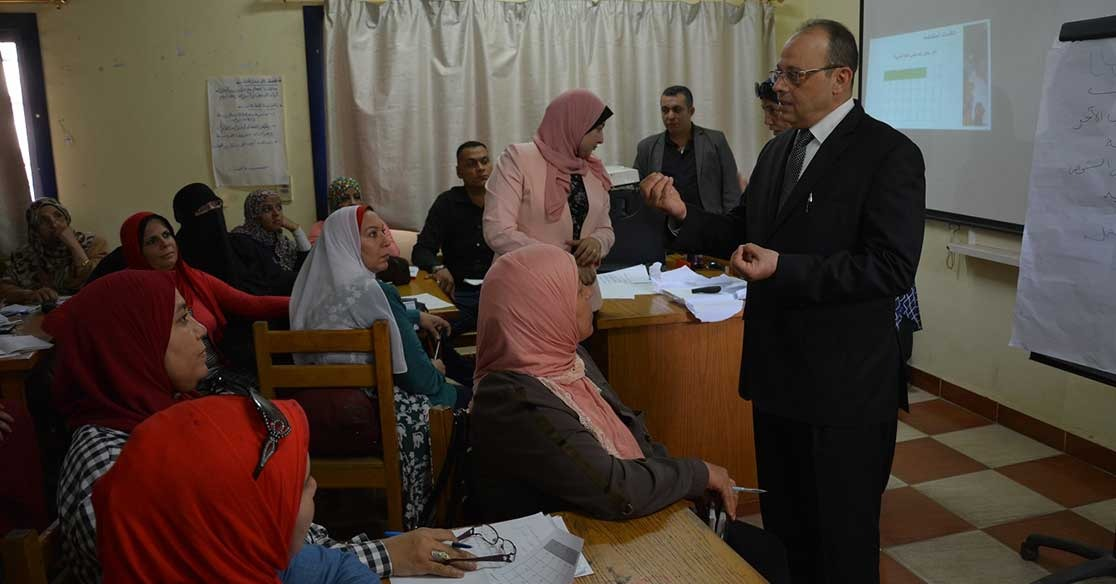 وزارة التربية والتعليم تطلق المرحلة الأولى من تدريب التطوير المهني للمدرسين (صور)