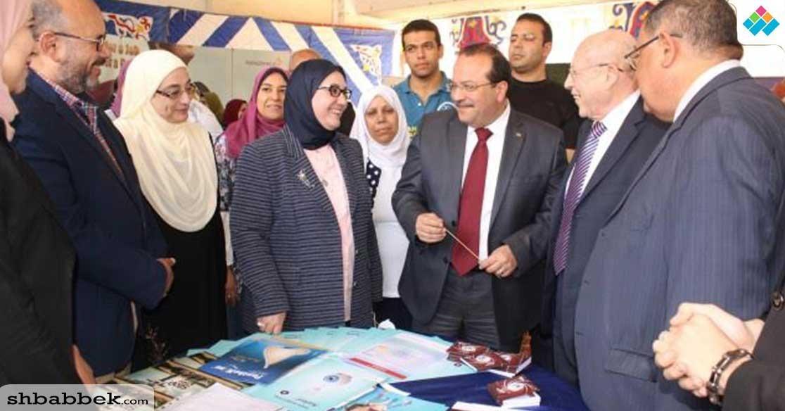 رئيس جامعة طنطا يفتتح الملتقى السنوي لتوظيف الخريجين بكلية الصيدلة