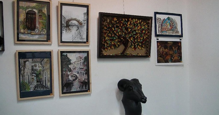 إقامة معرض «السوق الفني» للمبدعين بكلية الفنون الجميلة جامعة المنيا