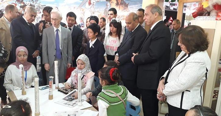 رئيس جامعة المنيا يشهد افتتاح فعاليات «اليوم المصري الياباني» بمكتبة مصر العامة