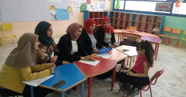 إجراء المقابلات الشخصية للطلاب المقبولين في المدارس المصرية اليابانية