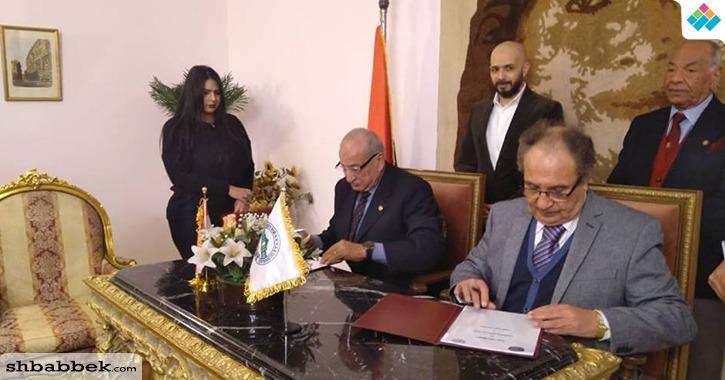 جامعة مصر للعلوم والتكنولوجيا توقع بروتوكول تعاون مع معهد إعداد القادة