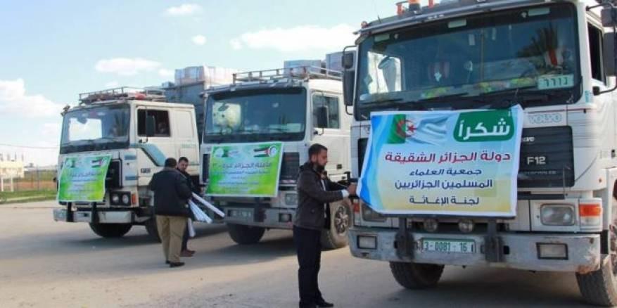 «الطريق مسدود».. قافلة مساعدات تعود للجزائر بعد رفض مصر دخولها غزة