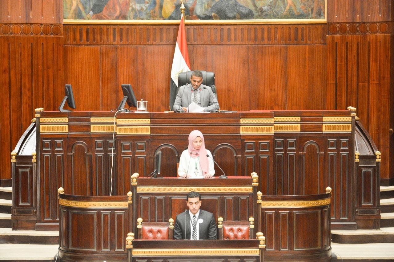 افتتاح أنشطة نموذج محاكاة مجلس النواب بـ«سياسة القاهرة» (صور)
