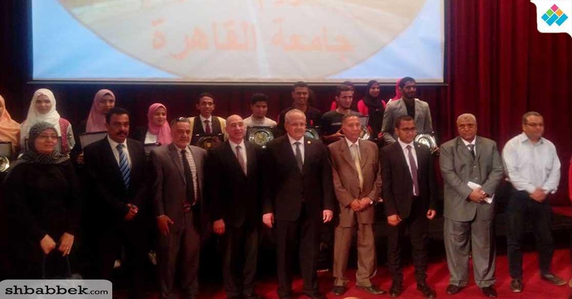 رئيس جامعة القاهرة: «طلابنا وطالباتنا رجالة»