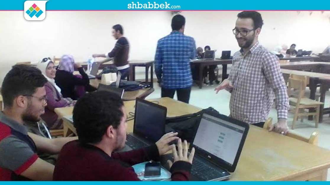 انطلاق فعاليات دوري البرمجة لطلاب جامعة الفيوم