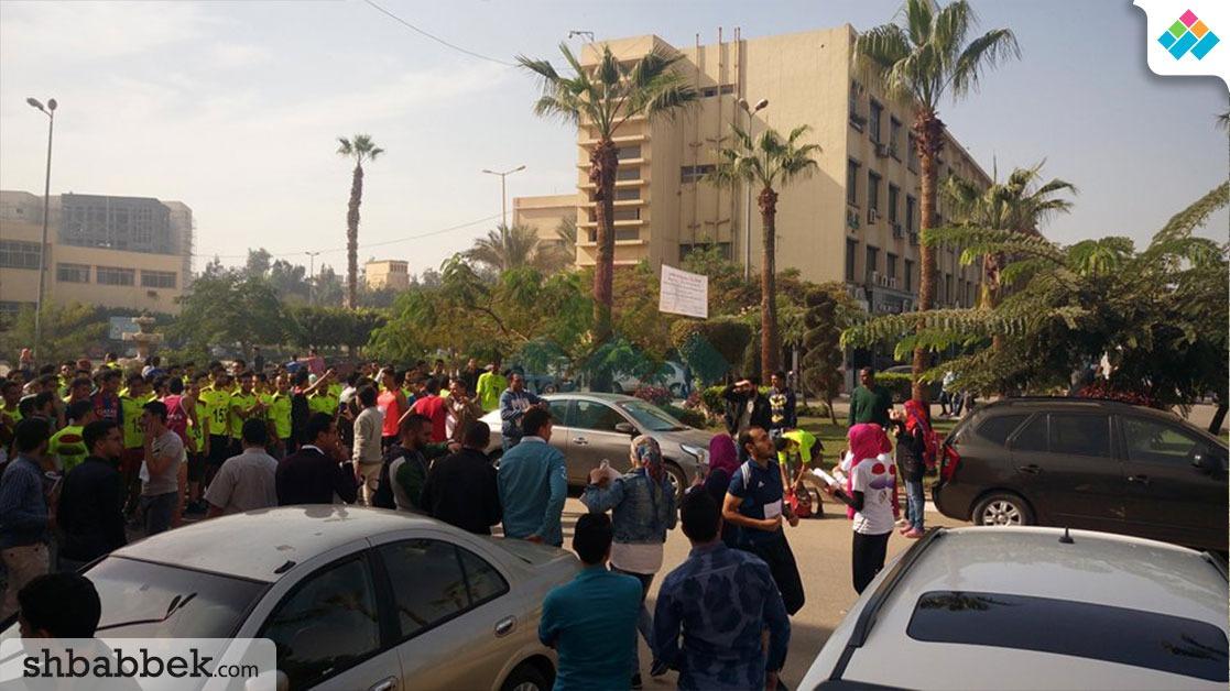 الأكبر في تاريخها.. طلاب جامعة المنصورة يشاركون في الماراثون الرياضي