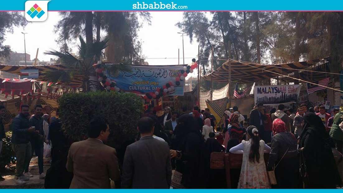 انطلاق مهرجان «يوم الشعوب» الرابع في جامعة المنصورة «صور»