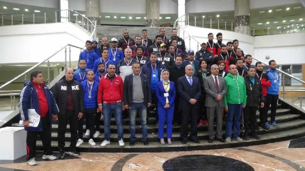 جامعة المنيا تحصد 27ميدالية بأسبوع شباب الجامعات المصرية