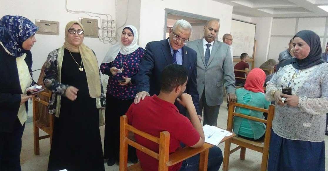 ضبط 34 حالة غش جديدة في امتحانات جامعة المنيا