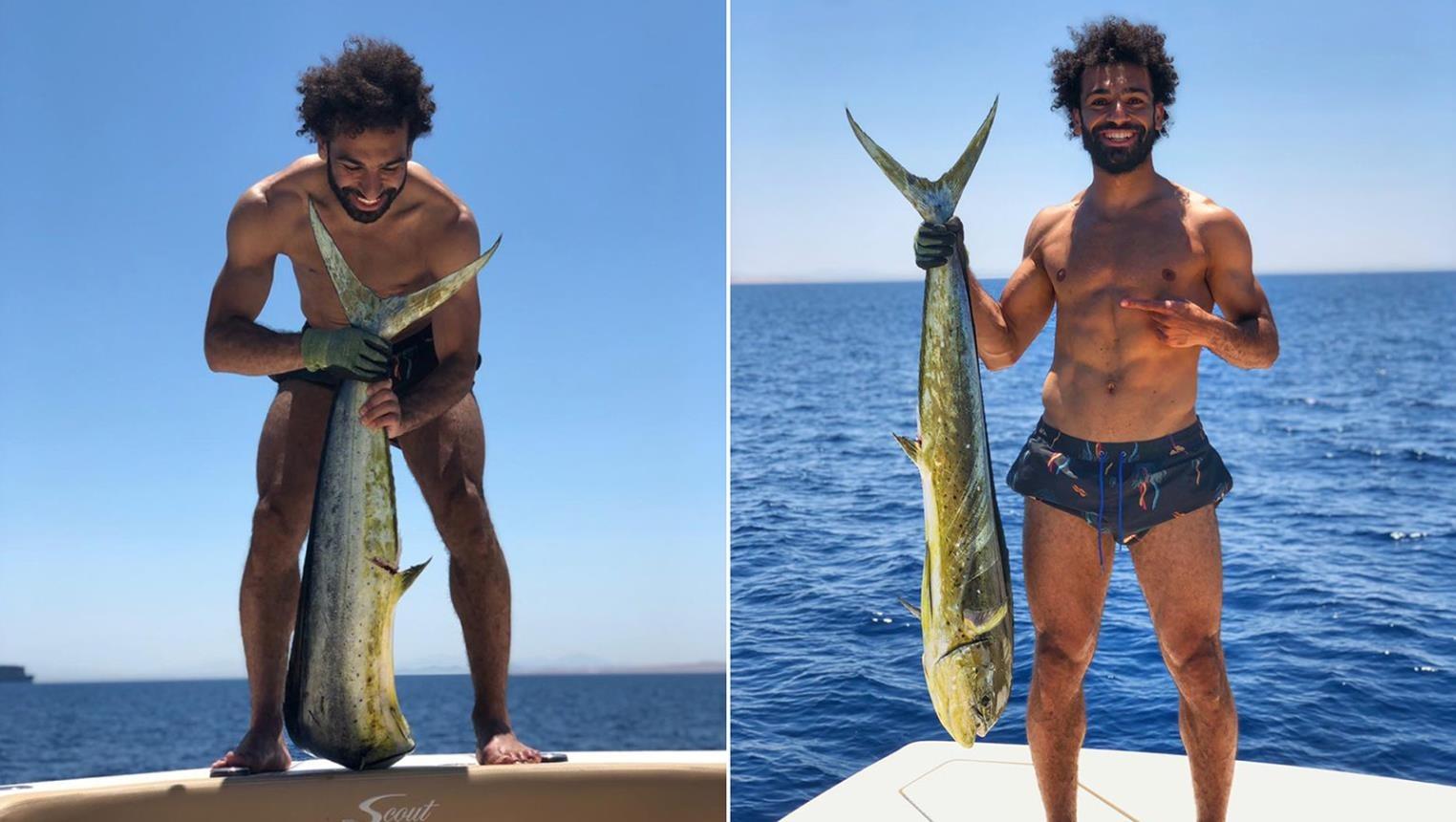 أفيخاي أدرعي يعلق على صورة «محمد صلاح والسمكة» ويوجه رسالة لـ«فخر العرب»