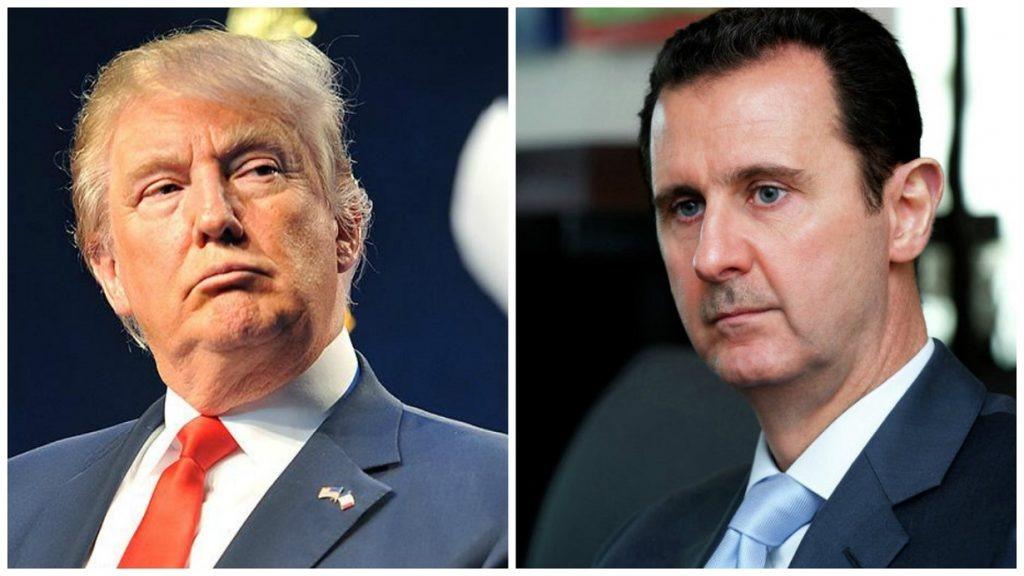 أين ذهب بشار الأسد عقب قصف سوريا اليوم؟