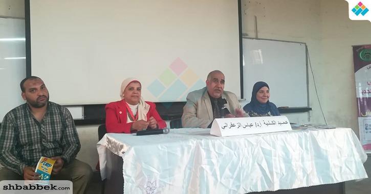 عميد تخطيط عمراني القاهرة للطلاب الجدد: افتخروا بالانتماء لجامعة القاهرة
