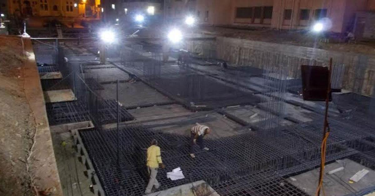 رئيس جامعة طنطا يتابع أعمال الإنشاءات بمستشفى الجراحات الجديد