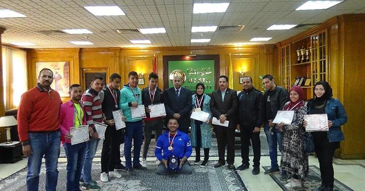 منتخب جامعة المنيا يحصد 14 ميدالية في اللقاء الرياضي لذوي الاحتياجات الخاصة