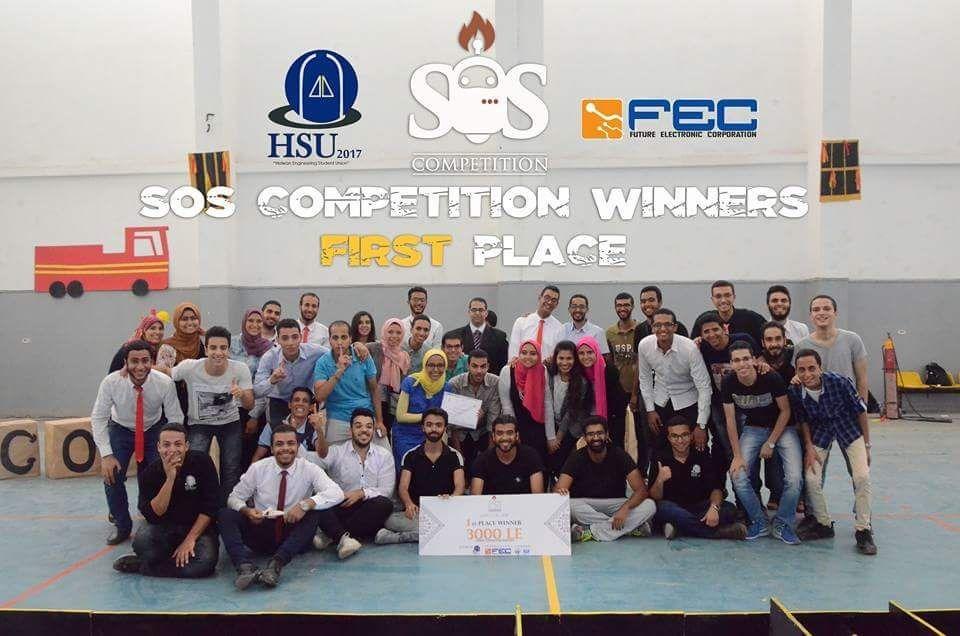 بمشاركة 4 جامعات.. «هندسة حلوان» تنظم مسابقة روبوت لإطفاء الحرائق «صور»