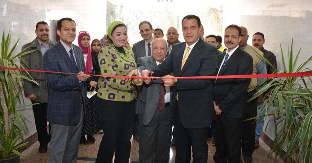 افتتاح مركز تدريب جودة اللحوم في جامعة أسيوط