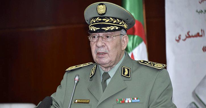 قائد الجيش الجزائري: «ليس لدينا مطامع في الحكم»
