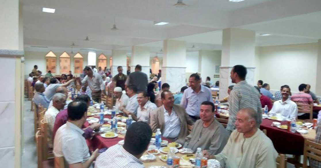 إفطار جماعي لأعضاء هيئة التدريس والعاملين بجامعة كفر الشيخ